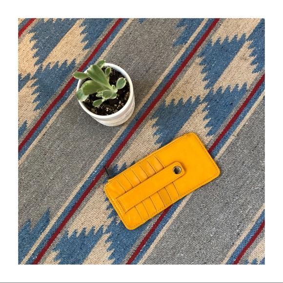 Handbags - EUC   Yellow Wallet from Target